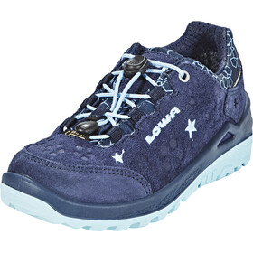 Lowa Marie GTX Chaussures à tige basse Fille, navy/iceblue